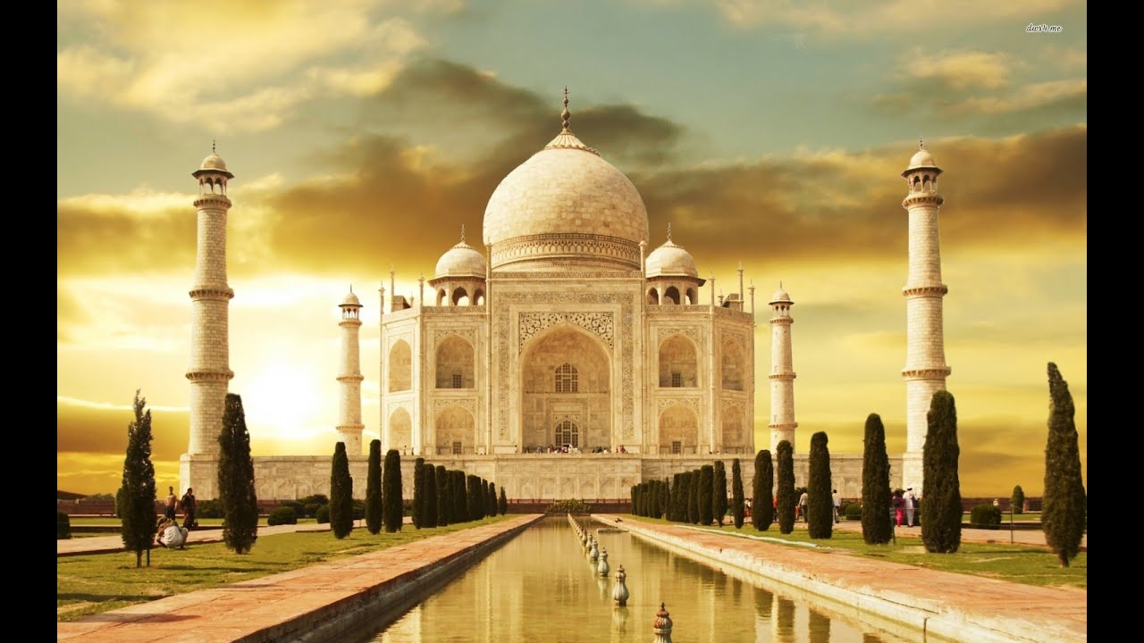 7 Wonders Of The World India Agra Taj Mahal Youtube