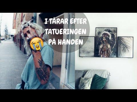 TATUERAR HELA HANDEN + GÖR OM HEMMA!