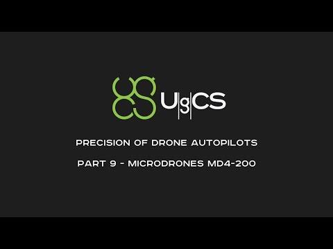 Comparing Drone Autopilot Precision - Part IX - Microdrones md4-200