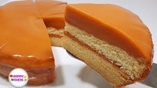 เค้กชาไทยหน้านิ่ม Thai milk tea cakeสูตรอร่อยนุ่มละลายในปาก | happytaste