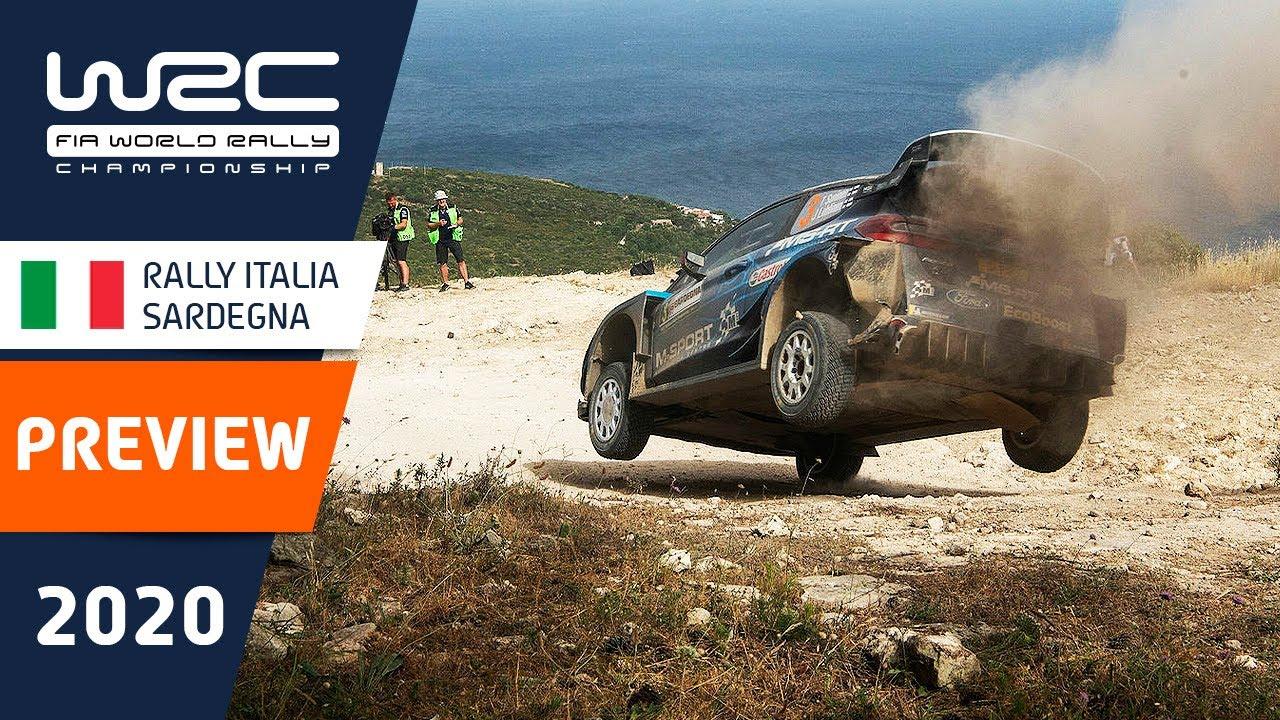 WRC - Rally Italia Sardegna 2020: PREVIEW Clip