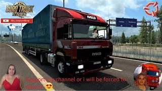 Euro Truck Simulator 2 (1.37 Beta)   Iveco Turbostar and BDF by RALF84 for 1.36x Road to Rotterdam Holland Schmitz Ownable Trailer Naturalux Graphics and Weather + DLC's & Mods  Support me please thanks Support me economically at the mail vanelli.isabella