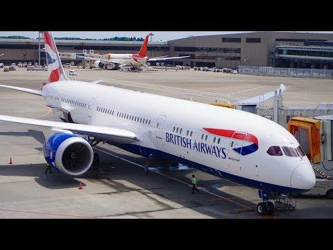 British Airways 787-9 Dreamliner Business Class / Club World Review - Tokyo to Heathrow.