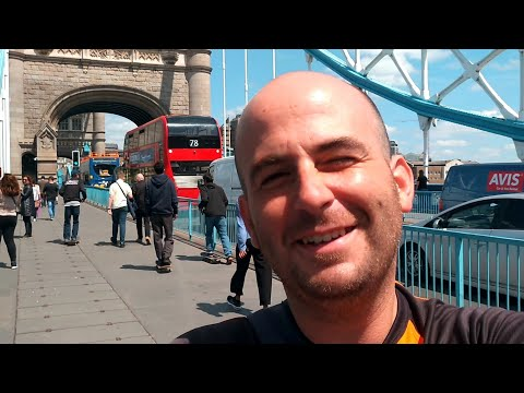 Sunny Day At London Going To Job Centre To Claim For My National Insurance Number - 17th June 2019