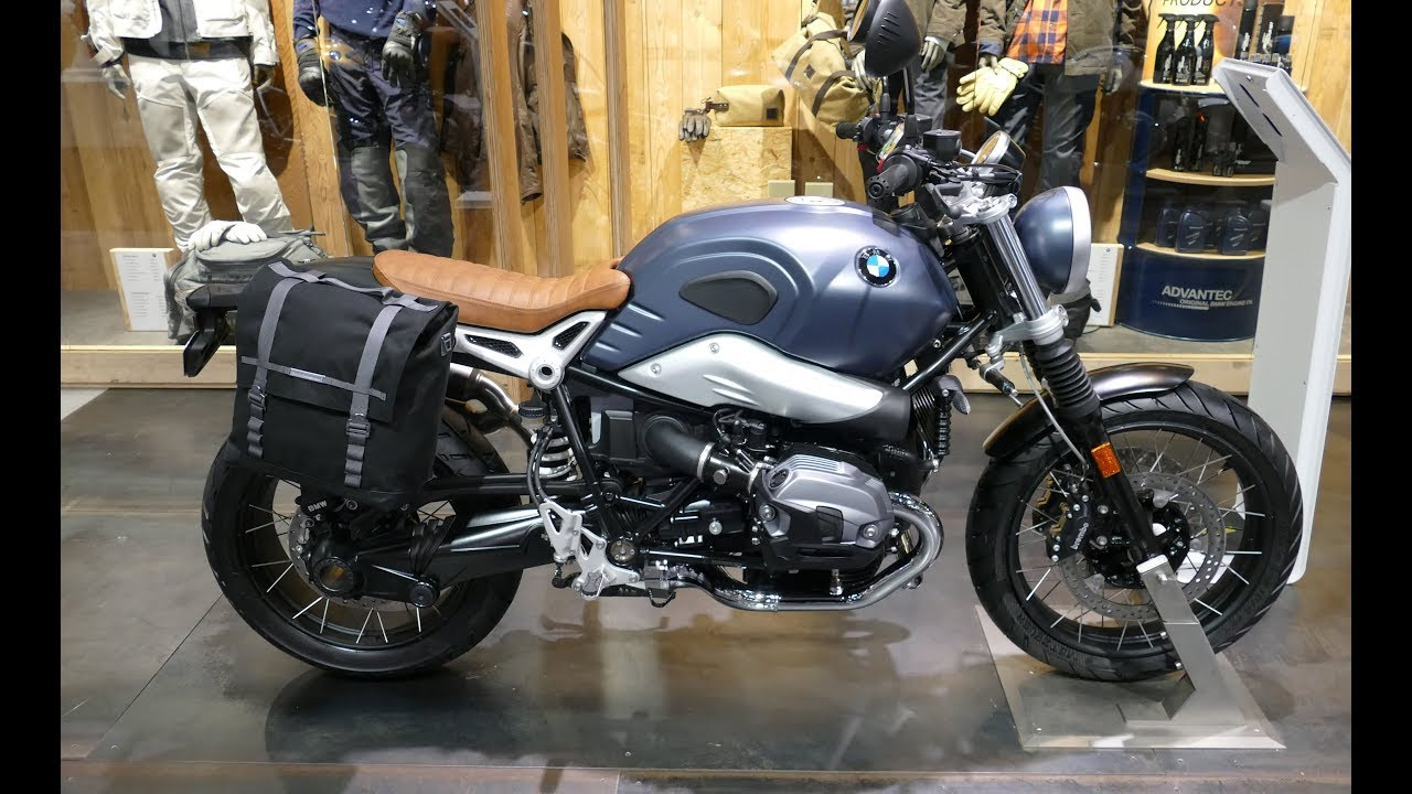 2019 BMW R nineT Scrambler - YouTube