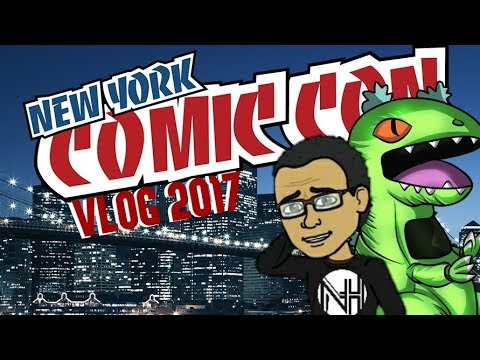 New York Comic Con 2017 Vlog
