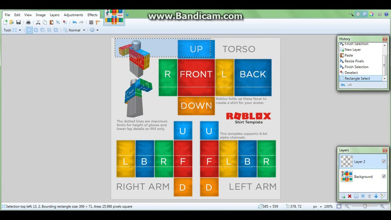 how to make a simple roblox shirt for free