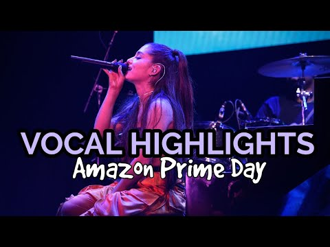 Ariana Grande - 'Amazon Prime Day' VOCAL HIGHLIGHTS