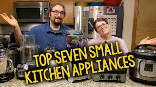 Our Top 7 Favorite Small Kitchen Appliances