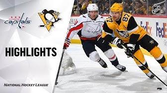 NHL Highlights | Capitals @ Penguins 03/07/2020