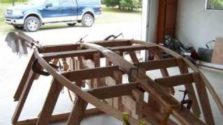 Home Building a McKenzie River Drift Boat