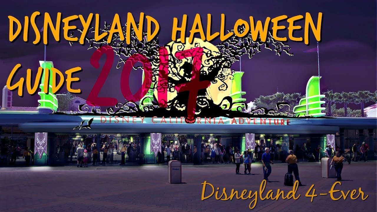 Halloween Time at Disneyland Guide - 2017 - YouTube