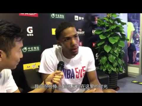 Patrick McCaw interview with Steve Zeng for 5v5: favorite food in China, mentorship from Warriors