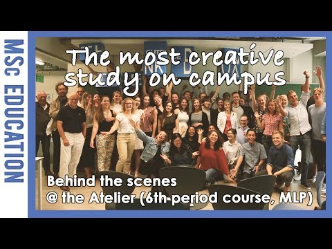 MSc Landscape Architecture and Planning - The Atelier | WUR
