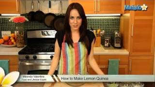 How To Make Lemon Quinoa