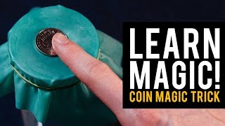 Easy Magic Trick! Learn the Coin Through Balloon Trick!