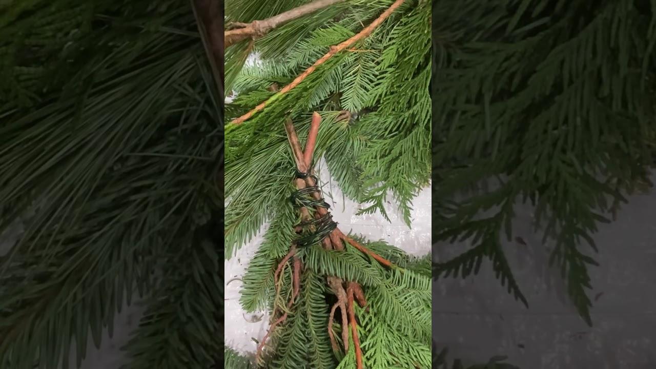 Fresh Holiday Wreath Tutorial