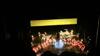 "Björk ""Sun In My Mouth"" live at City Center Theater 3/25/15 NYC"