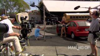 Come on-set with 'Bad Teacher'