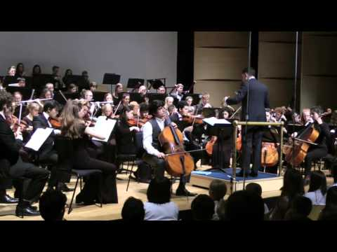 Daniel Benn - Schumann Cello Concerto with Robert Hodge and Stoneleigh Youth Orchestra