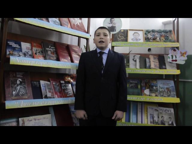 Изображение предпросмотра прочтения – ФирдусВалиев читает произведение «Книжка про книжки» С.Я.Маршака
