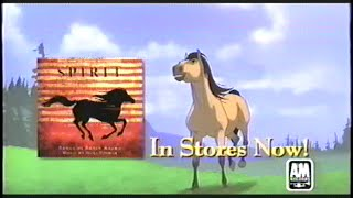 Spirit – Stallion of the Cimarron Soundtrack (2002) Promo (VHS Capture)