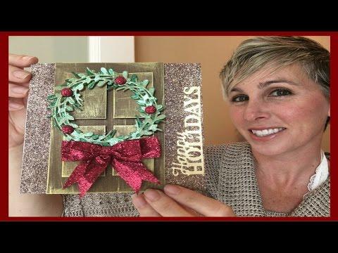 Demo Donna's Wreath Card #38