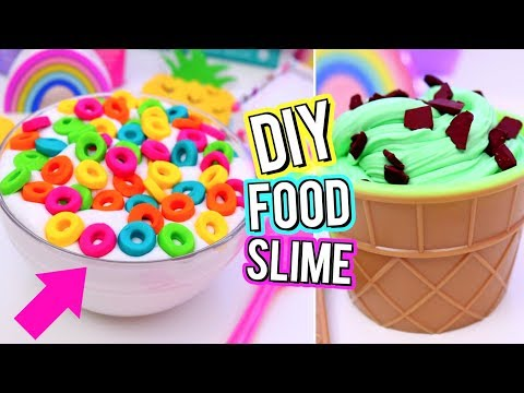 Thumbnail: DIY Food Inspired SLIME! Crazy SLIME IDEAS You NEED TO TRY! How To Make FUN SLIME!
