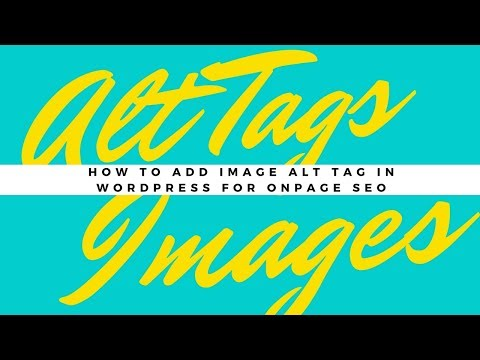How to Add Image Alt Tag In Wordpress for Onpage SEO