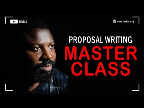 Grant Writing Course | Masterclass | Nonprofit Fundraising Strategy | SEVICS
