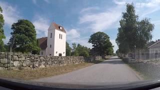 Hylses Blekingeturné - SAXEMARA - mot badplatsen och campingen (RONNEBY) - 180727