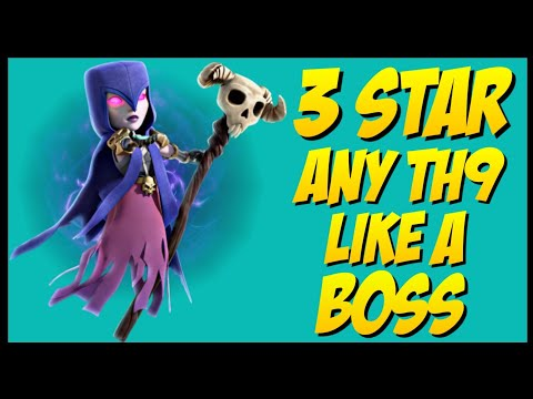 TH9 Witch Slap War Attack Strategy | Part 9 | Clash of Clans