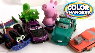 Snot Rod & Boost Color Changers Cars Tunerz Mater RC from Pixar Toy Story Color Shifters