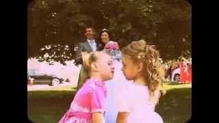 Прикол на свадьбе. Поцеловались...)))