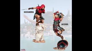 Upcoming : Assassin's Creed: Odyssey - Kassandra & Alexios Figurine