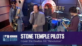 """Stone Temple Pilots Cover the Beatles' """"Revolution"""" on the Stern Show (2001)"""