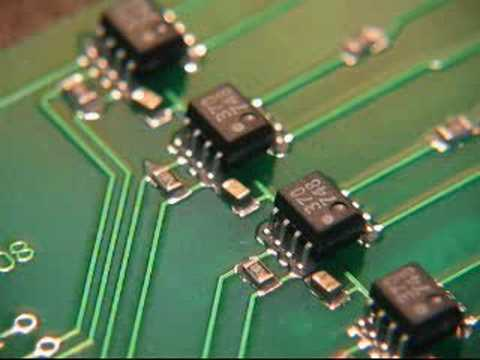 Smd Reflow Soldering Youtube