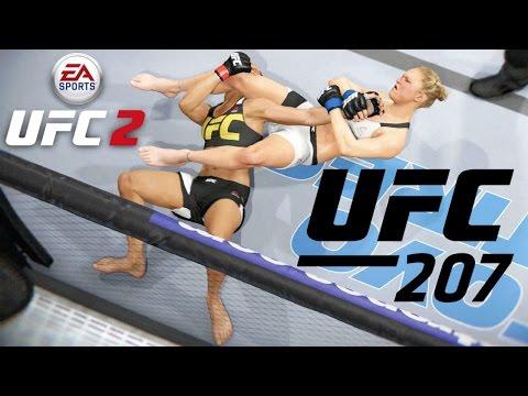 UFC 207 |  Ronda Rousey vs Amanda Nunes Simulation | EA UFC 2 - Xbox One
