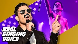 Bohemian Rhapsody Cast Real Singing Voice & Dancing - RAMI MALEK