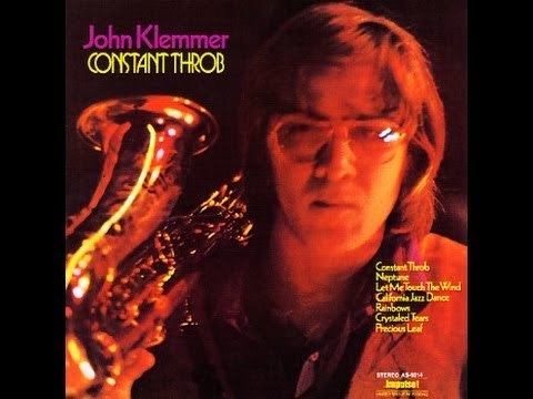 "JOHN KLEMMER SAX ""CONSTANT THROB"" [IMPULSE! RECORDS CD ]"