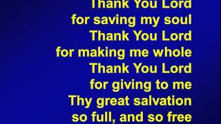 vuclip 009 - Thank you Lord for saving my soul - M