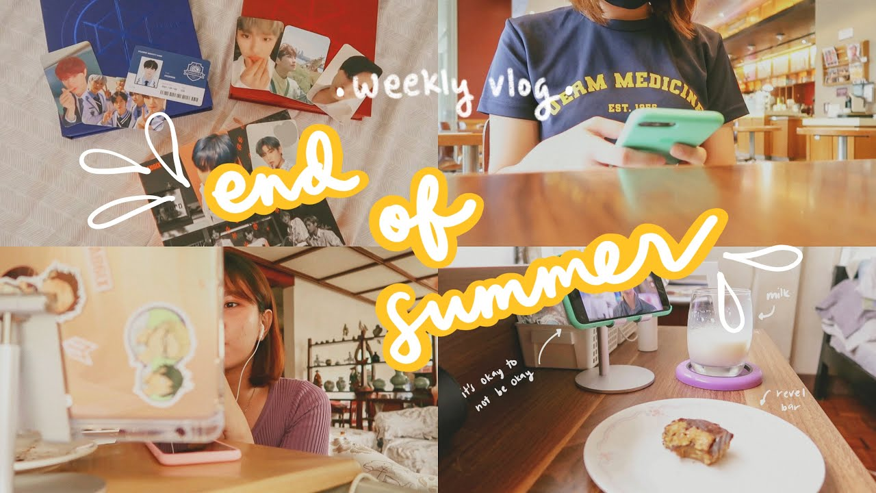 🌻 summer days well spent ☁️ (weekly vlog)