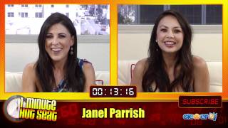 1 Minute Hot Seat - Janel Parrish In The Hot Seat