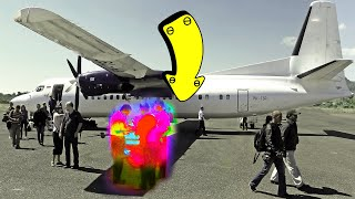 Never Walk Under the Wings of Plane, Here's Why