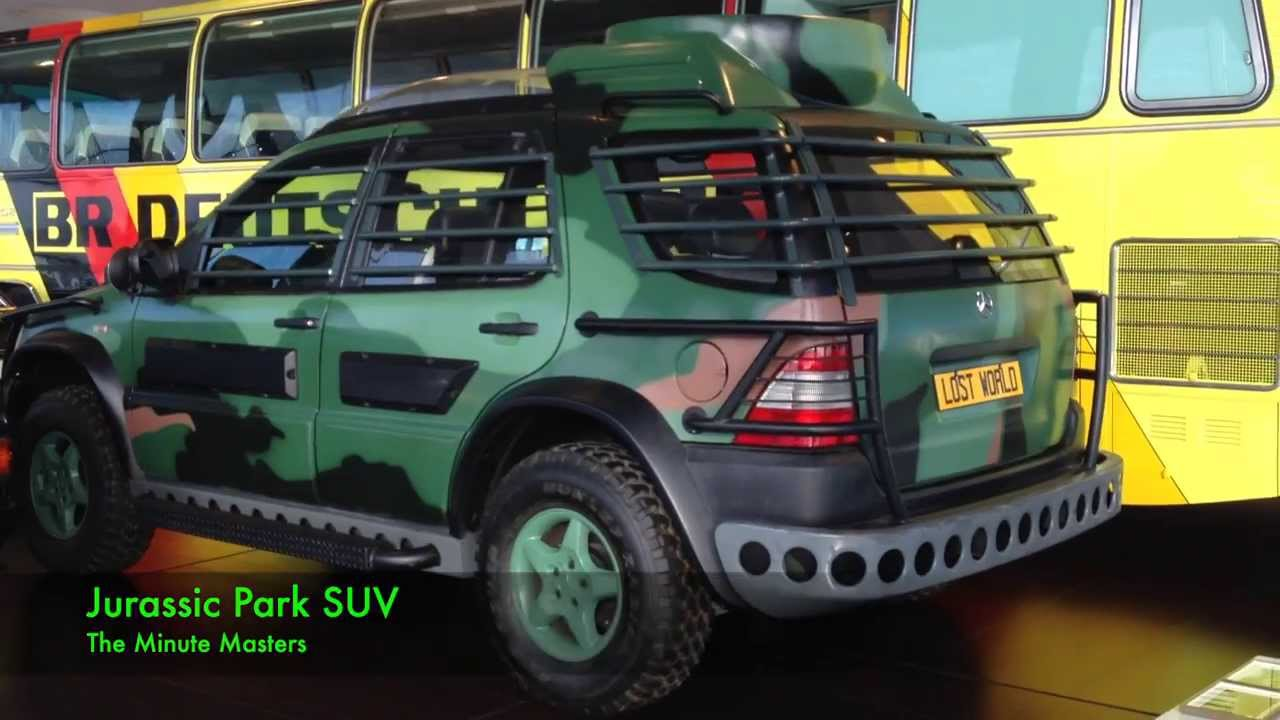 WHAT!! / Jurassic Park SUV - YouTube