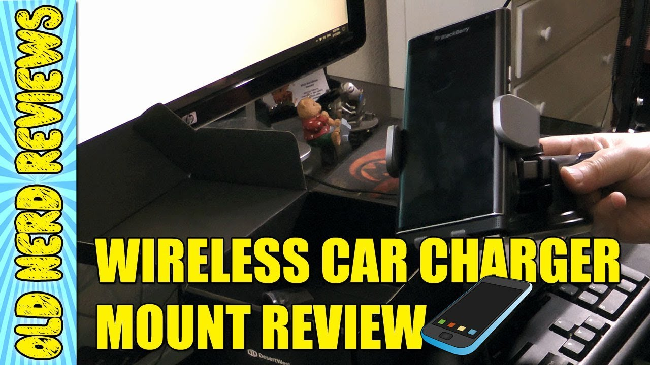 Desertwest Wireless Auto Clamping Car Charger Mount Review