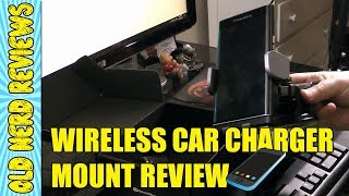 DesertWest Wireless Auto-Clamping Car Charger Mount REVIEW