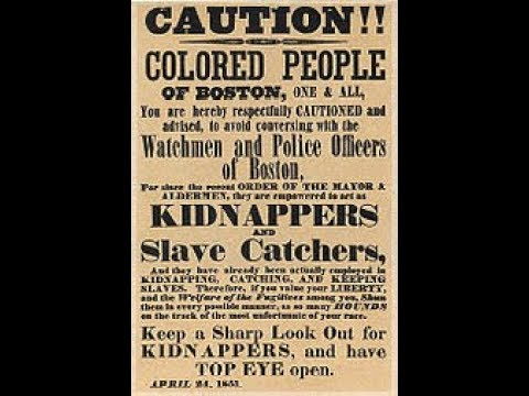 Fugitive Slave Laws Before the Civil War Preview
