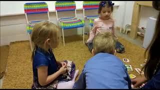Урок английского языка у детей 3-4 года (2ой год обучения), игра на цифры