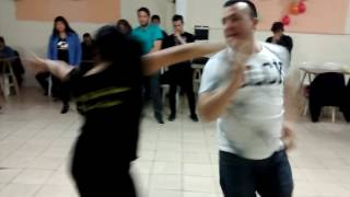 �������� ���� Andrea y Marcelo bailando Americano Dance ( Italo Disco y High Energy) ������